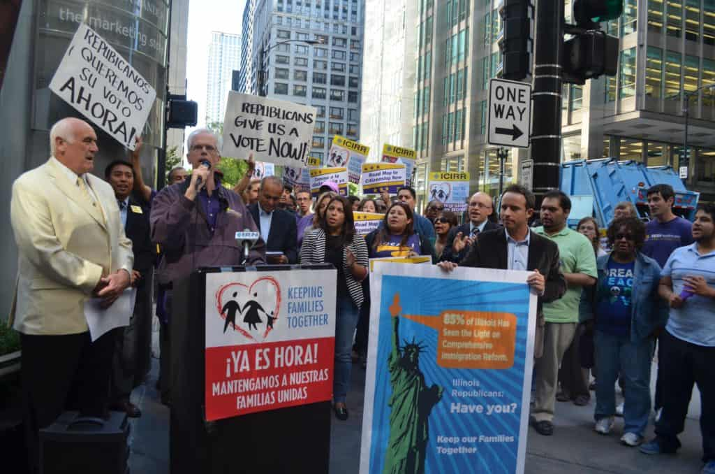 organizers advocating for immigration reform
