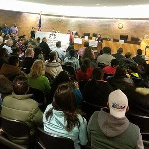 a community meeting of immigrants in bolingbrook